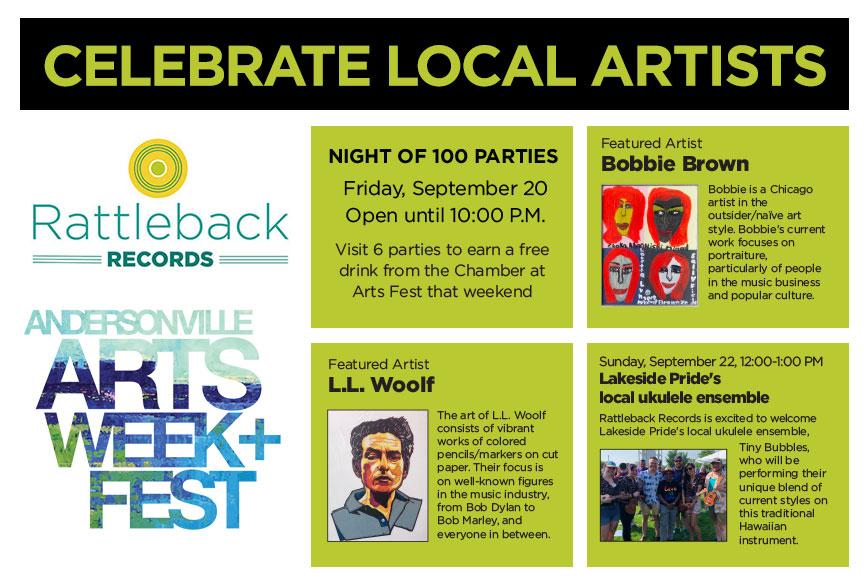 Andersonville Arts Week + Fest