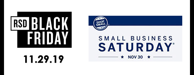 Record Store Day/Black Friday/Small Business Saturday
